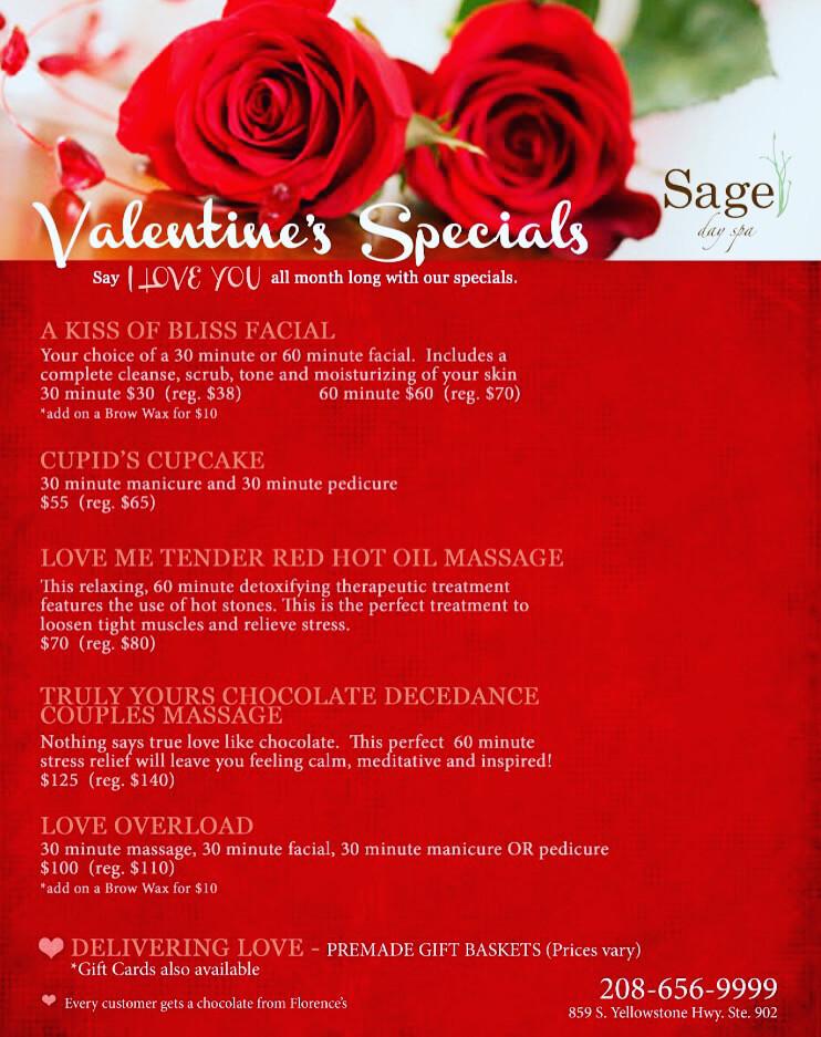 Sage Day Spa_Valentines Specials